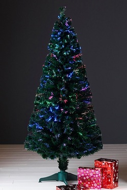 Green Classic Deluxe Fibre Optic Tree