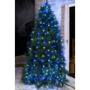 60 Blue/White LED Easy Tree Lights