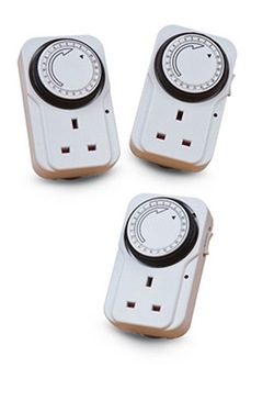 Triple Plug-In Timers