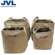 Set Of 4 Stylish Storage Bags