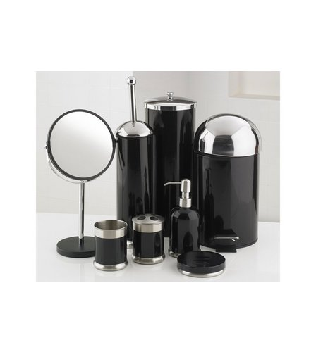 8 bathroom accessories set studio