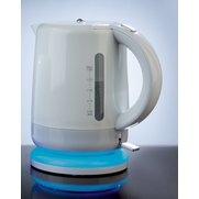 Blue Illuminated White 1.5L Kettle