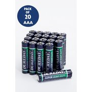 20-Piece Dureday Battery Packs