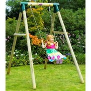 Plum Bush Baby Wooden Garden Swing Set
