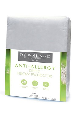 Downland Anti Allergy Zip Pillow Pr...
