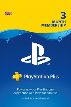 PlayStation Plus 90 Day Subscription