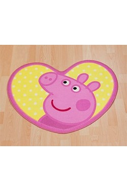 Peppa Pig - Seaside Shaped Rug