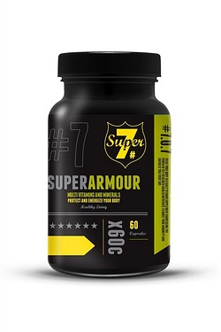 Super7 Super Armour Vitamin 60 Caps...