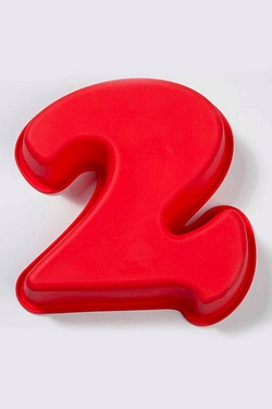 Silicone Number Cake Moulds