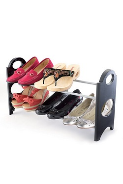 6 Pair Shoe Rack