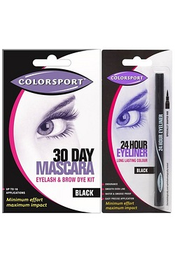 Colour Sport 30 Day Mascara Black a...