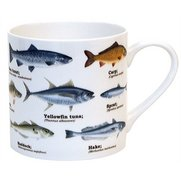 Ecologie - Multi Fish Bone China Mug