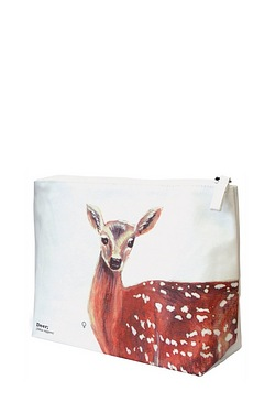 Ecologie - Deer Wild Animals Wash Bag