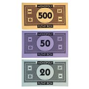Monopoly - Monopoly Money 3 Pack Te...