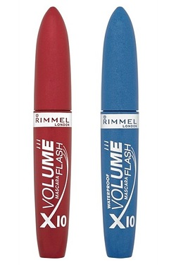Rimmel - Volume x10 Black Mascara &...