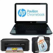 "HP 14"" Chromebook Bundle Pavili..."