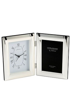 Satin Silver-Plated Photo Frame Wit...