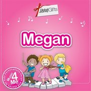 Children's Music CD: Megan
