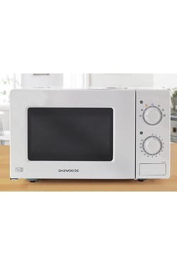 Daewoo White Manual Microwave