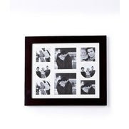 Multi Aperture Square Black Frame