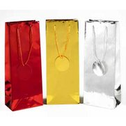 3 Metallic Bottle Bags