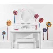 Funky Floral Wall Stickers
