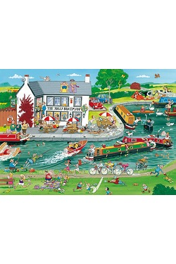 The Jolly Boatman 1000-Piece Jigsaw