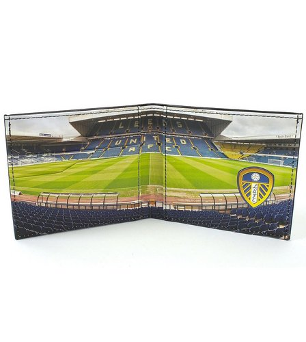Image for Football Club Stadium Leather Wallet - Leeds from ace