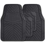 4 Piece Rubber Splendor Car Mat Set...