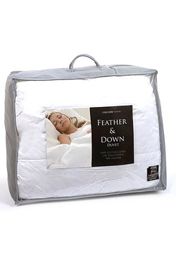 Duck Feather & Down Duvet - 13.5 To...