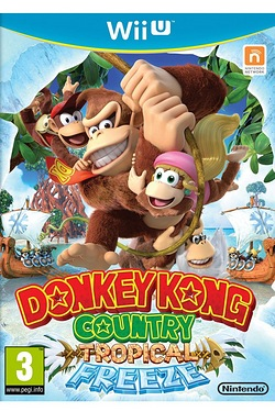 Wii U Donkey Kong Country Tropical Freez