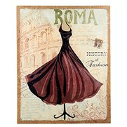Hessian Dress Canvas