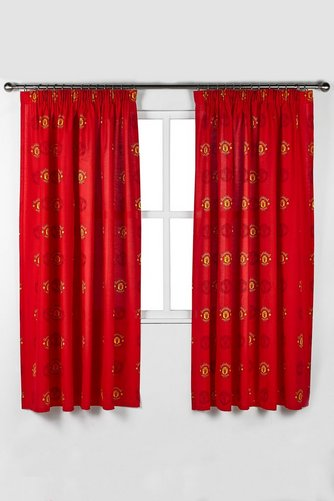 Image For Manchester United Curtains From Studio