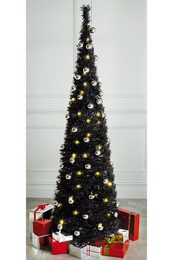 Catchy Collections Of 6ft Black Pop Up Christmas Tree Catchy  - 6ft Black Pop Up Christmas Tree