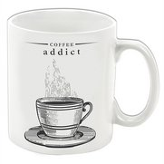 Victoriana Mug - Coffee Addict