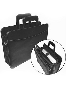 Woodland Leather Bonded Attaché Case