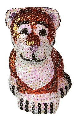 Sequin Art Tiger