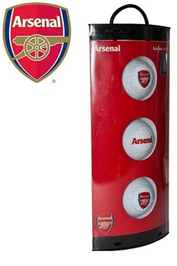 Arsenal FC - 3 Pack Of Golf Balls