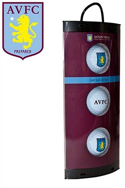 Aston Villa FC - 3 Pack Of Golf Balls