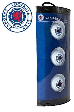 Rangers FC - 3 Pack Of Golf Balls