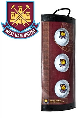 West Ham FC - 3 Pack Of Golf Balls