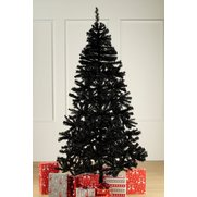 Black Unlit Deluxe Tree