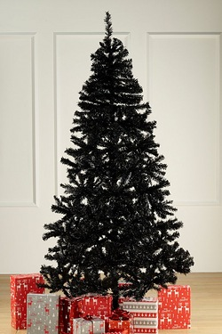 Black Deluxe Unlit Tree