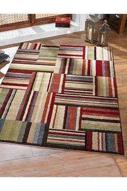 Bookend Patchwork Rug