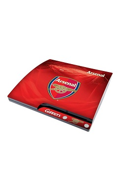Arsenal FC: PS3 Slim Console Skin