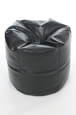 Faux Leather 6 Cubic Feet Beanbag