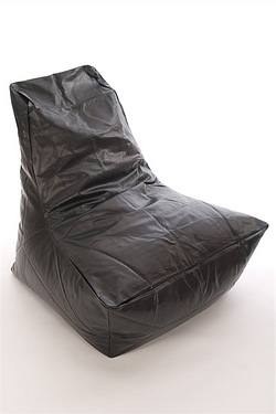 Faux Leather Slammer Beanbag