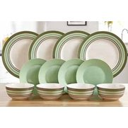 12-Piece New Bone China Pearlescent...