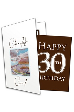 Happy Birthday Chocolate Greetings Card - 30
