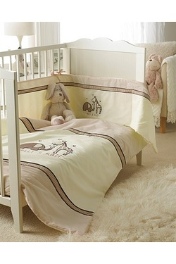 Elli and Raff - 3 Piece Cot Quilt Set